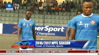 Sports This Morning: Updates From 2016/2017 NPFL 24/02/17