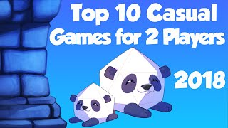Top 10 Casual Games for 2 Players