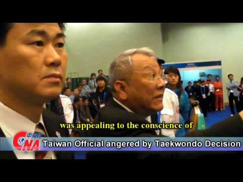 【CNA Exclusive】Taiwan Official Ovid Tseng Angered by East Asian Games Taekwondo Decision