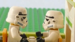 LEGO Stormtroopers Go Camping