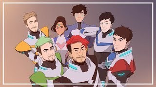 Voltron Youtubers AU [animation]