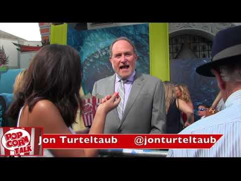 Jon Turteltaub THE MEG Premiere
