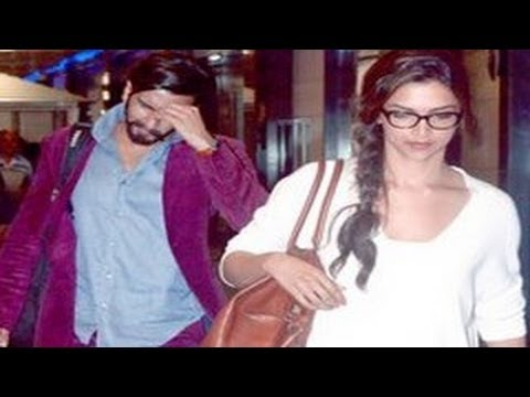 Ranveer Singh & Deepika Padukone HOLIDAY in Spain
