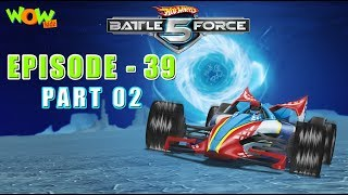 Motu Patlu presents Hot Wheels Battle Force 5 -Full Throttle- S2 E39.P2 - in Hindi