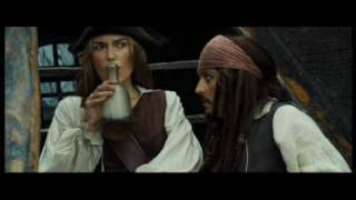 Amor gitano (Jack & Elizabeth, sparrabeth, Pirates of the Caribbean)