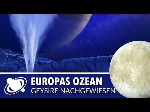 Geysire auf Europa nachgewiesen - aussichtsreicher Kandidat für Leben (2018)