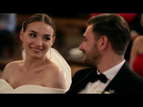 Piękny Film ślubny -  Karina & Jakub  AGENCJA ŚLUBNA SPINKI W Szczawnicy - Organizacja W 2 M-ce!