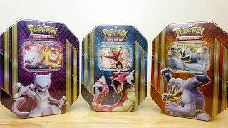 Derium Opens His Favorite Pokemon Tins