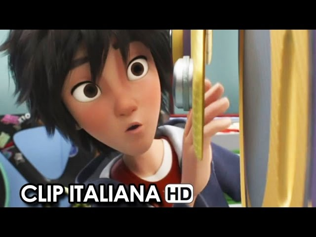 Big Hero 6 Clip Italiana 'Batteria scarica' (2014) HD