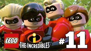 LEGO INCREDIBLES Gameplay Walkthrough Part 11 Above Parr PS4