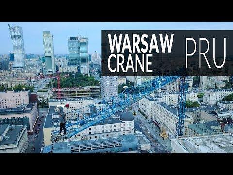 PruTIME | Wspinaczka Na Dzwig W Warszawie | NOENTRY