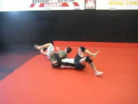 Pain Peters kimura counters using Judo throws :Sumi gaeshi and uchi mata Image 1