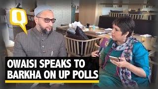 The Quint: Barkha Live With Owaisi: 'Triple Talaq for Modi, Akhilesh & Rahul'