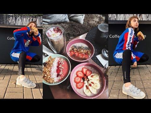 ВЛОГ ОСЕННИЙ / вкусный завтрак, тренировка и друзья