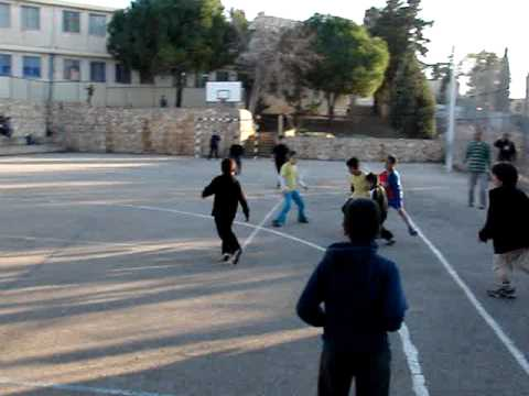 Peace Initiative in Isreal. Soccer game between Jewish and Arab Children in Haifa, Israel. Part 2 Video