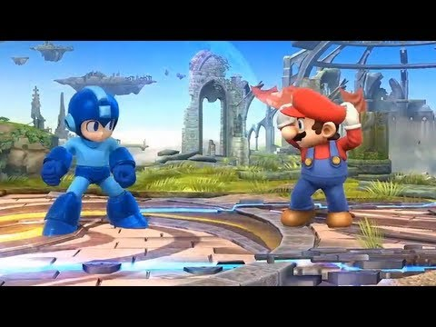 Super Smash Bros 4 Characters, Moves Stages Final Smash Analysis (WII U / 3DS Gameplay) All HD E3M13