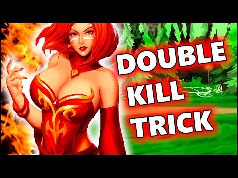 Dota 2 Tricks: How to KILL heroes with Bloodstone TWICE!