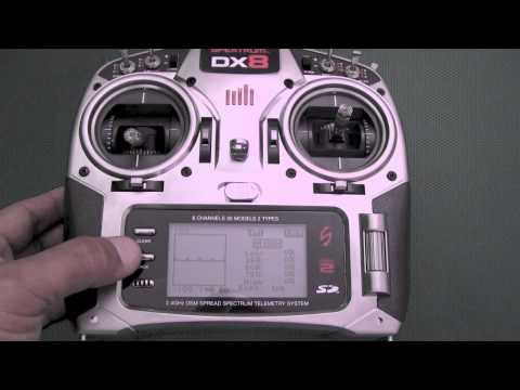 Spektrum DX8 Overview