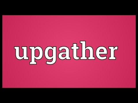 Header of upgather
