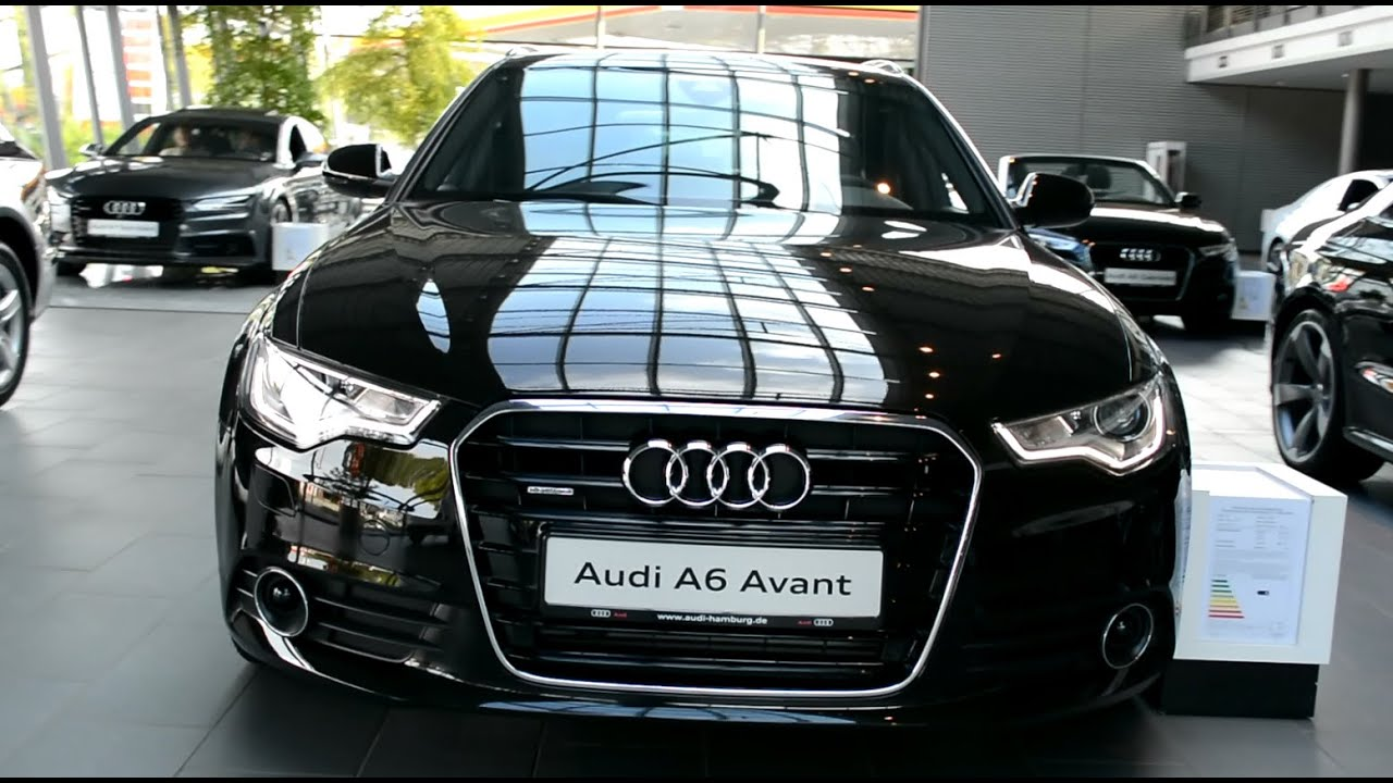 2015 new audi a6 avant quattro exterior and interior youtube for Interieur cuir audi a6