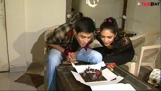 Nagarjuna actor Anshuman Malhotra's birthday celebration on sets, watch video | FIlmibeat