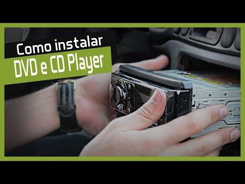 Como instalar Cd Player Automotivo 1 Din - Faça você mesmo  DIY