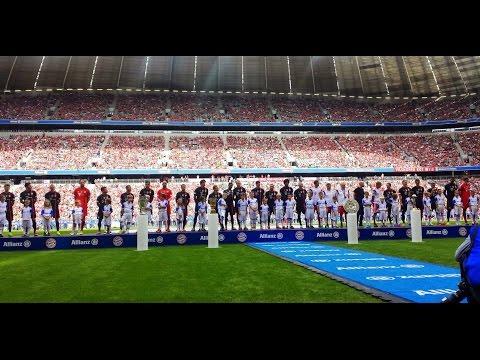 Spielervorstellung des FC Bayern München 2014/2015 [HD+] inclusive der Interviews der Stars