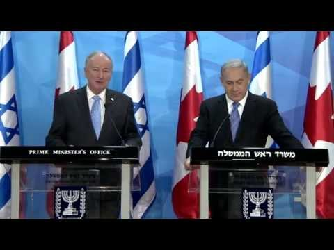 PM Netanyahu meets Canadian Minister of Foreign Affairs Nicholson