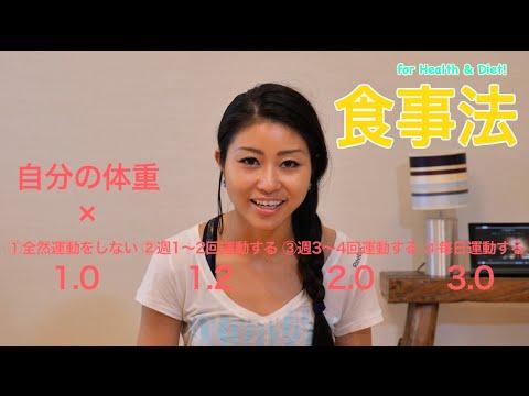 """【ダイエット 食事動画】""""美コア""""食事法で健康ダイエット!  – 長さ: 9:12。"""