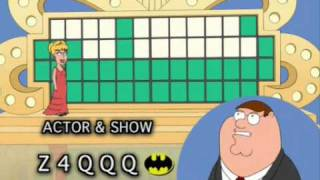 Family Guy - The Wheel Of Fortune