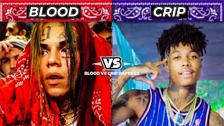BLOOD RAPPERS vs CRIP RAPPERS