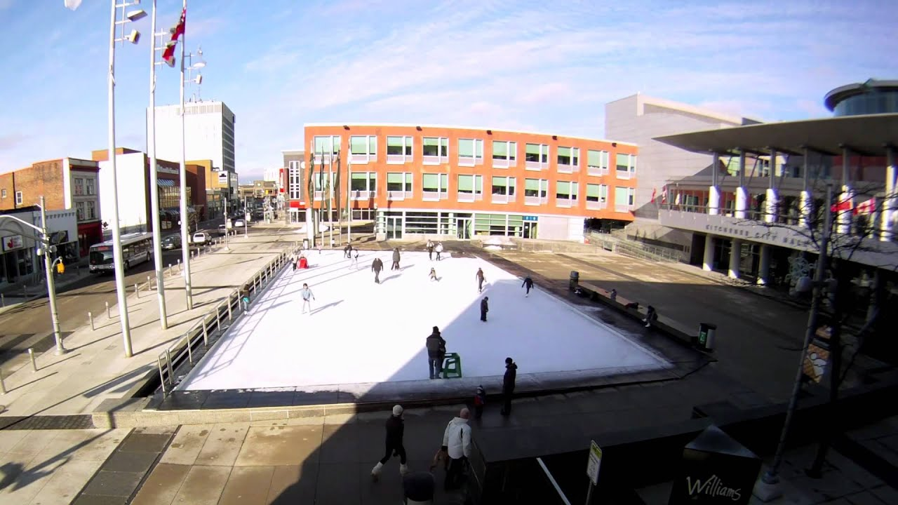 Public Ice Skating Kitchener Waterloo