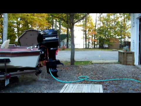 1988 80hp Mercury Outboard Motor- Oil  Injected - Power Trim