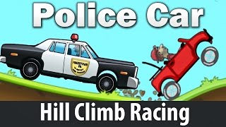 Police Car - Hill Climb Сars Racing - Games Android For Kids
