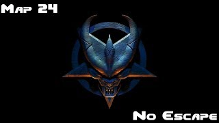 Let's Play Doom 64 Retribution (GZDoom) (Doom Slayer) Map 24 No Escape