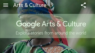GOOGLE ARTS AND CULTURE ANDROID APP