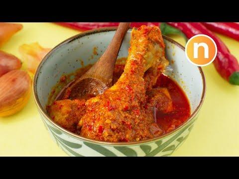 Chicken Rendang | Rendang Ayam [Nyonya Cooking]