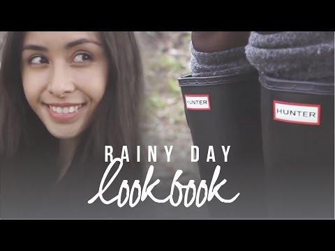LOOKBOOK: Rainy Day Outfits (How I Style Hunter Boots) | liketheflower