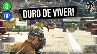 """MUITA BALA E DINHEIRO NO MODO """"DURO DE VIVER""""!!! (GTA Online)"""