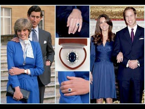 Почему Кейт Миддлтон носит обручальное кольцо принцессы Дианы