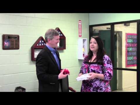 Peoples Bank Visits Locust Fork High School
