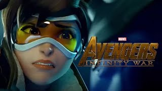 Overwatch : Rise Trailer - (Avengers Infinity War Style)