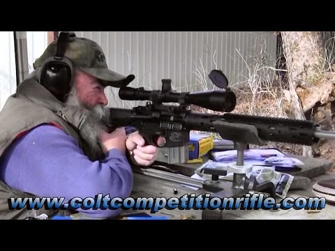 Shooting the New CRP-20VR Colt Competition 223 Semi-Automatic Varmint Rifle - Gunblast.com