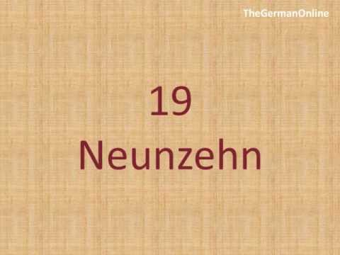 Number Zero in German German Number Counting From