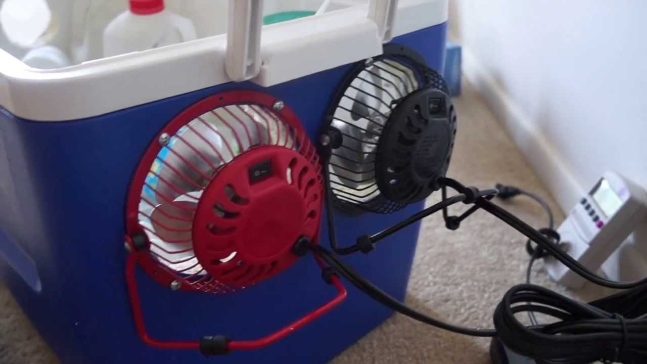 12 Volt Homemade Air Conditioner Youtube