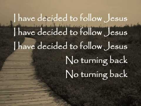 Hymn - I Have Decided To Follow Jesus