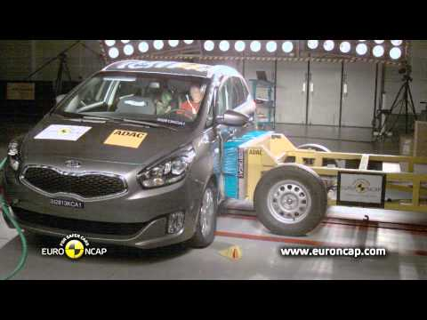 Euro NCAP | Kia Carens | 2013 | Краш-тест