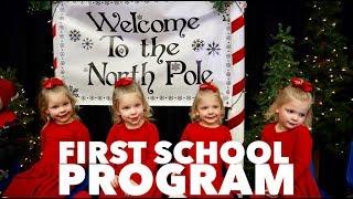 QUADRUPLET FIRST SCHOOL CHRISTMAS PROGRAM