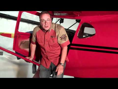 Getting into a 1946 Taylorcraft BC-12D