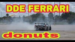 Crazy donuts on Daily Driven Exotics Ferrari 458 GT